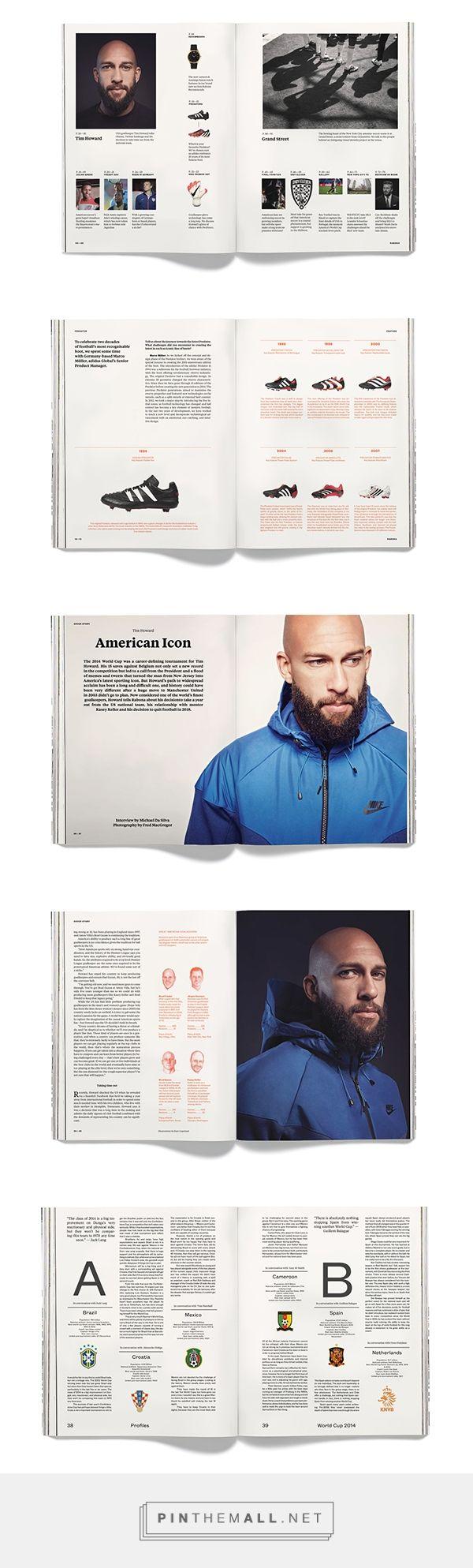 Rabona Magazine on Behance - created via http://pinthemall.net