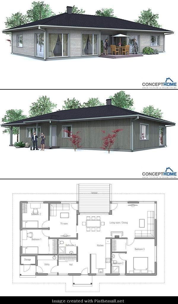 113 best home floor plans images on Pinterest House template - new house blueprint esl