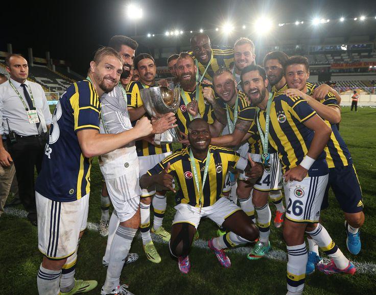 2014 SÜPER KUPA ŞAMPİYONU FENERBAHÇE!