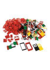 LEGO 9386 Dörrar, fönster, takdetaljer