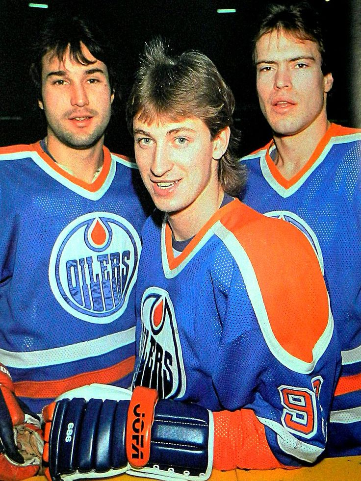 Coffey, Gretzky, and Messier.