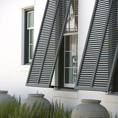 Alys Beach development in the Florida panhandle | Bahama Shutters and Olive Pots | Todd Childs
