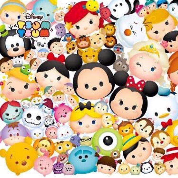 Tsum tsum wallpaper