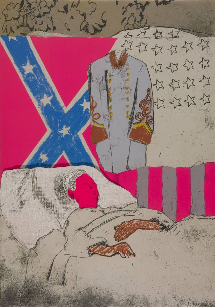 Larry Rivers, 'Confederate Soldier' 1970
