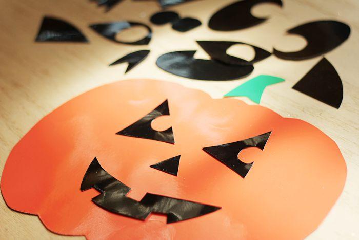 Homemade Halloween Decorations: Kid-Friendly Window Clings