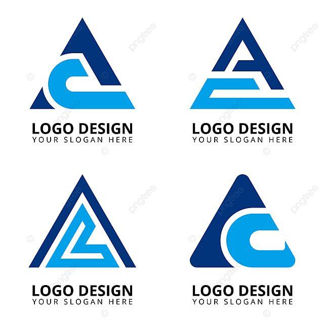 Huruf A C Koleksi Desain Logo Profesional Templat Untuk Unduh Gratis Di Pngtree Tulisan Desain Logo Letter Logo