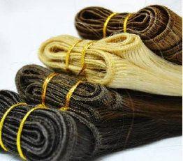 """Todos nuestros paquetes son de 100 gramos, cortina. Es cabello natural. Se puede teñir, rizar y planchar. Puedes utilizarlas de grapa """"anillas"""", clips (quita y pon) y cosidas."""