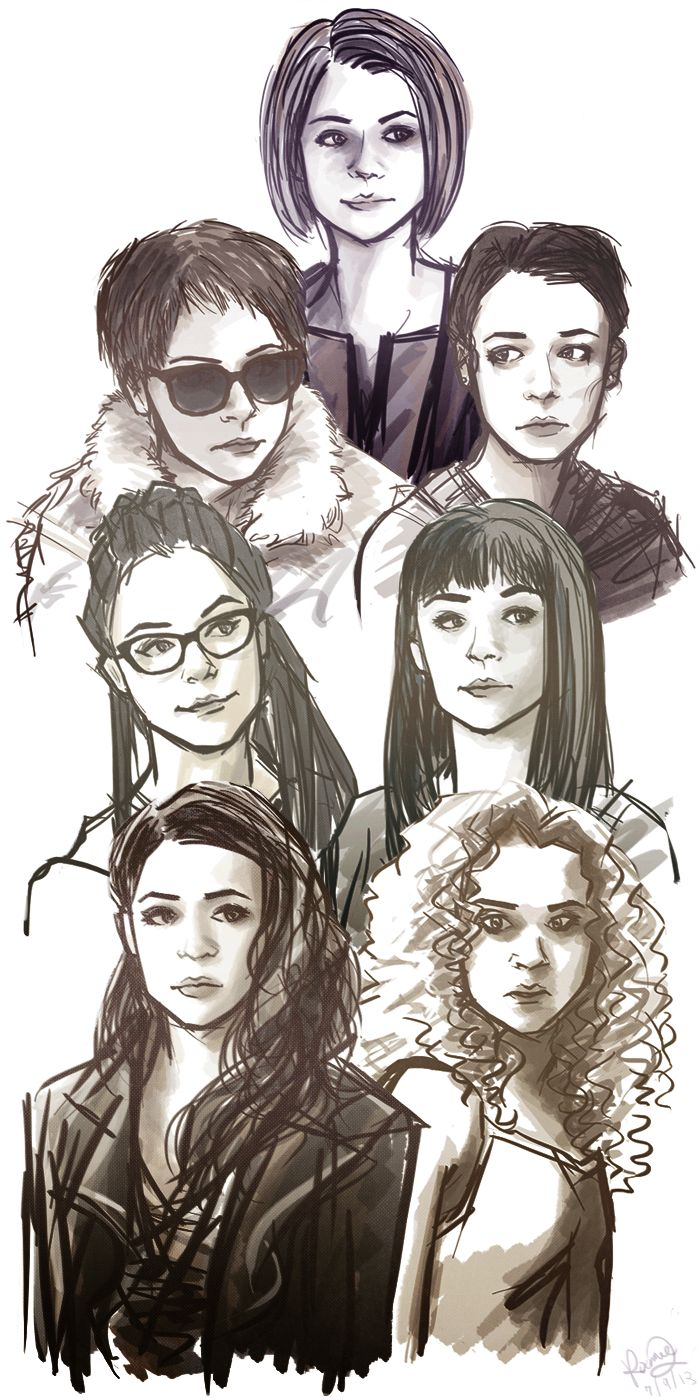 Orphan black t shirt uk - Orphan Black Helena Fanart Google Search