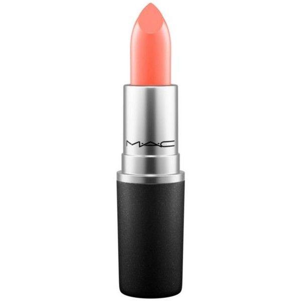 Mac Sushi Kiss Satin Lipstick ($17) ❤ liked on Polyvore featuring beauty products, makeup, lip makeup, lipstick, sushi kiss, lips makeup, lip gloss makeup, matte lipstick, mac cosmetics and matte finish lipstick