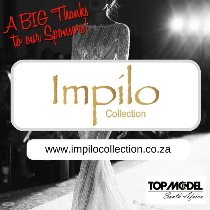 Thanks to Impilo Collection for your sponsorship! We appreciate your support!  Visit them on www.impilocollection.co.za #TMSA17 #TMSASponsor