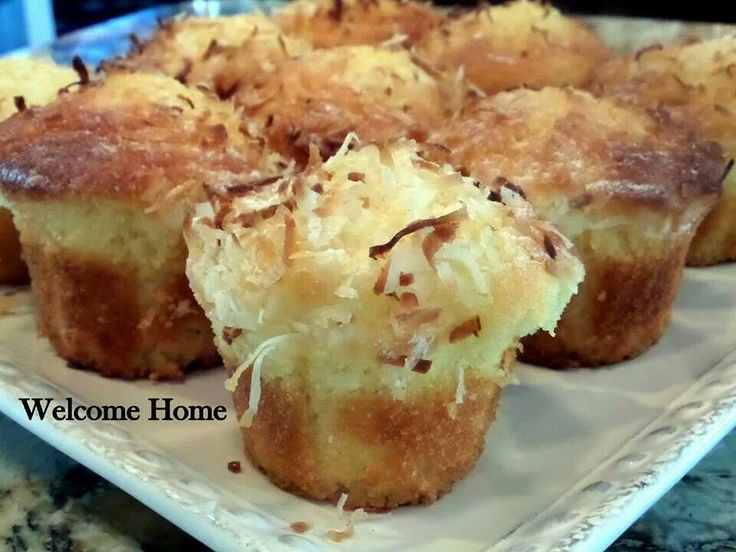 Coconut Pineapple Muffins | Recipes | Pinterest
