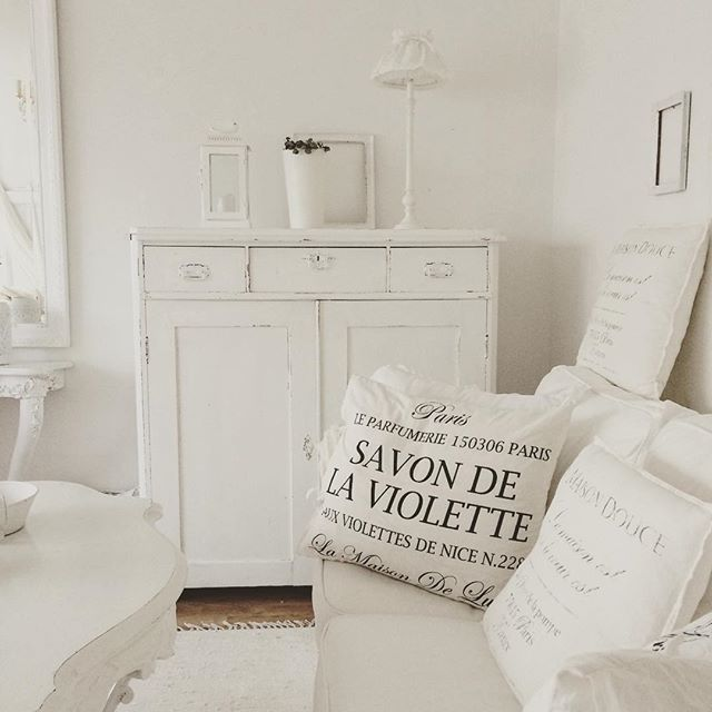 Shabby and Charme: in Svezia, stile shabby chic a casa di Maria