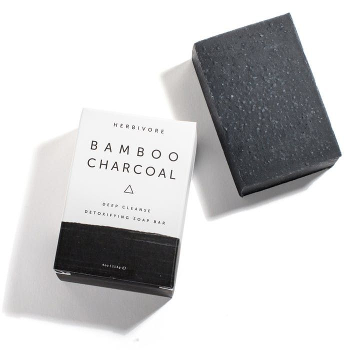 Herbivore BAMBOO CHARCOAL DEEP CLEANSING BAR