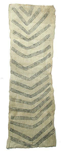 Mbuti Barkcloth made by the Mbuti Pygmies