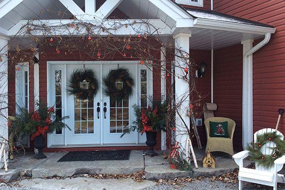 Buckhorn Christmas Holiday Home Tour #christmas #home #hometour #lakefront #property #community #decorated #lottery #princessmargaret #cottagecountry