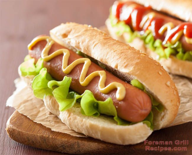 George Foreman Grill To Grill Frozen Hot Dogs