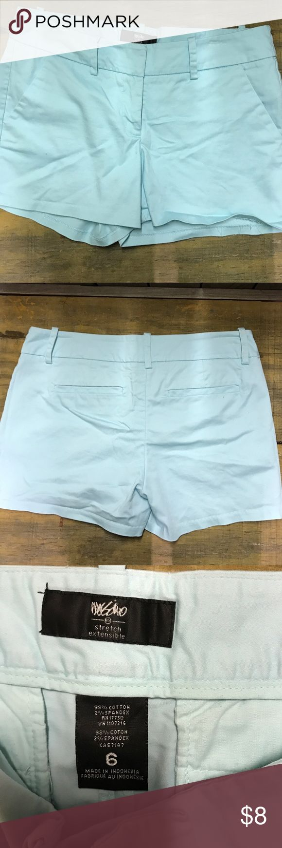 Cute light Mint shorts Gently preowned super cute mint color shorts Missoni Shorts Jean Shorts