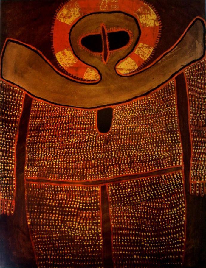 Alec Mingelmanganu (c1905-1981) Australia (Aboriginal): Wandjina c. 1980