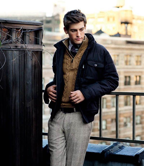 RelaxedWinter Layered, Fashion Men, Men Clothing, Winter Style, Guys Style, British Style, Fall Looks, Men Fashion, Men Outfit