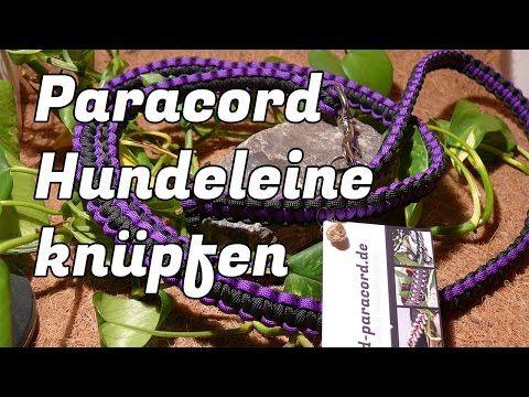 Paracord - Hundeleinen und Halsbänder einfach selber machen