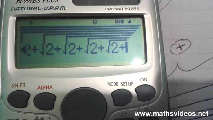 Pi Approximation Trick - Calculator - Derived Using Pythagoras's Theorem  #pi #irrational_numbers #mathematics #calculator_tricks