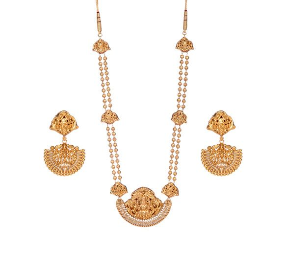 Pin on Tanishq Gold Necklace Designs