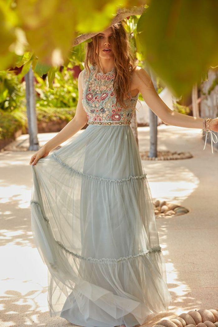 1001 Ideen Fur Boho Hochzeitskleid Zum Inspirieren Das Schonste Bild Fur Decorative In 2020 Boho Kleid Hochzeitsgast Boho Kleid Hochzeit Gast Kleid Hochzeit Gast