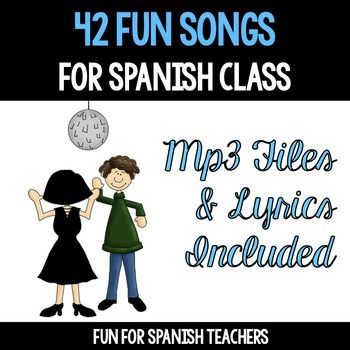 All Year Round contains 42 songs that will add a lot of fun to your Spanish class. It has songs that supports many of your units.It includes lyrics in Spanish.In this album collection you will find the following songs1 -Hola Amigos2 -Cmo Te Llamas T?3 -Hace Calor4 -Juana  La Araa5 -Mi Morral6 -Llueve7 -Veo Colores8 -Yo Soy El Cndor De Los Andes9 -Vamos Todos a Bailar10 -La Familia De Ranas11 -Las Palabras Mgicas12 -Hojas, Hojas13 -Hoy Es Halloween14 -Cinco Calabazas15 -Pap Noel, Quin Tiene…