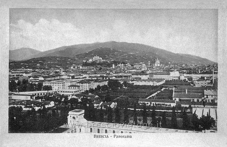 Panorama di Brescia http://www.bresciavintage.it/brescia-antica/cartoline/panorama-brescia-2/