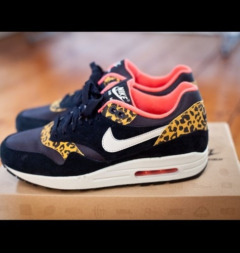 new concept fea20 f7bd1 Nike Air Max 1 Leopard Pack. Own you.  I WANT  Pinterest  Nike shoes  cheap, Nike shoes and Nike shoes outlet