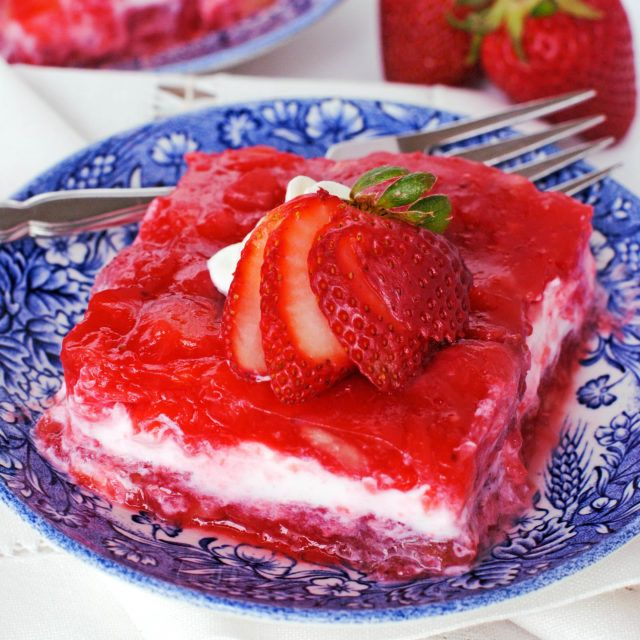Strawberry Banana And Pineapple Jello Salad Recipe Sour Cream Recipes Sour Cream Desserts Jello Salad
