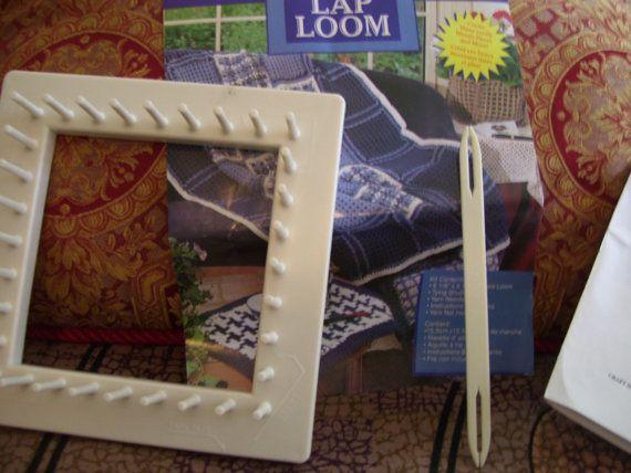 Craft House Square Lap Loom By Vintagegurufashion On Etsy
