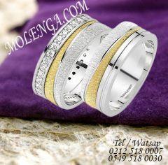 Gümüş Yüzük Çift TR130 #alyans #alyansmodelleri #çiftalyans #gümüş #gümüşyüzük #silver