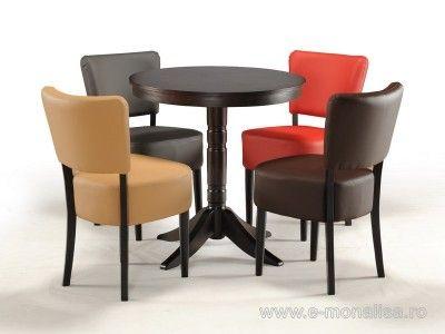 Mese din lemn pt. Bar Nisa   Scaune si mese bar, mobilier baruri - cafenele
