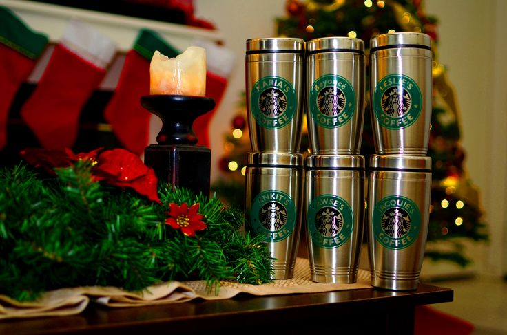 Personalized Starbucks Cup 16oz. Stainless Steel Tumblers Travel Mug Starbucks Seattle's Best Coffee Lovers
