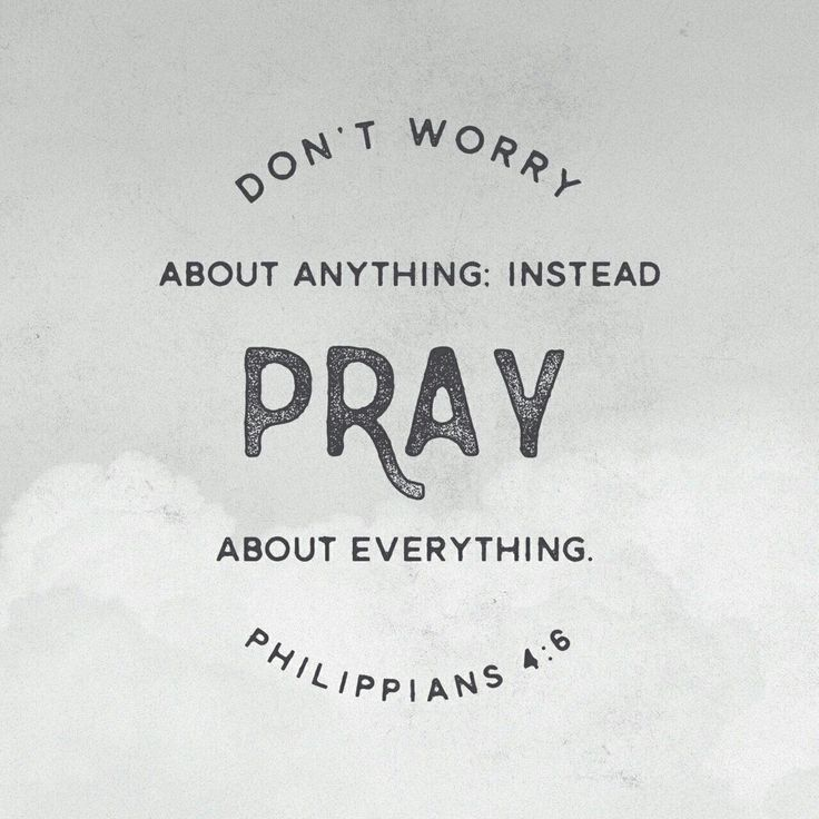 Pray about everything, pray  without ceasing and watch the Lord God Almighty fulfill his promises.