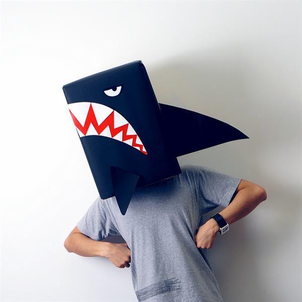 Корнавальные детские костюмы акулы