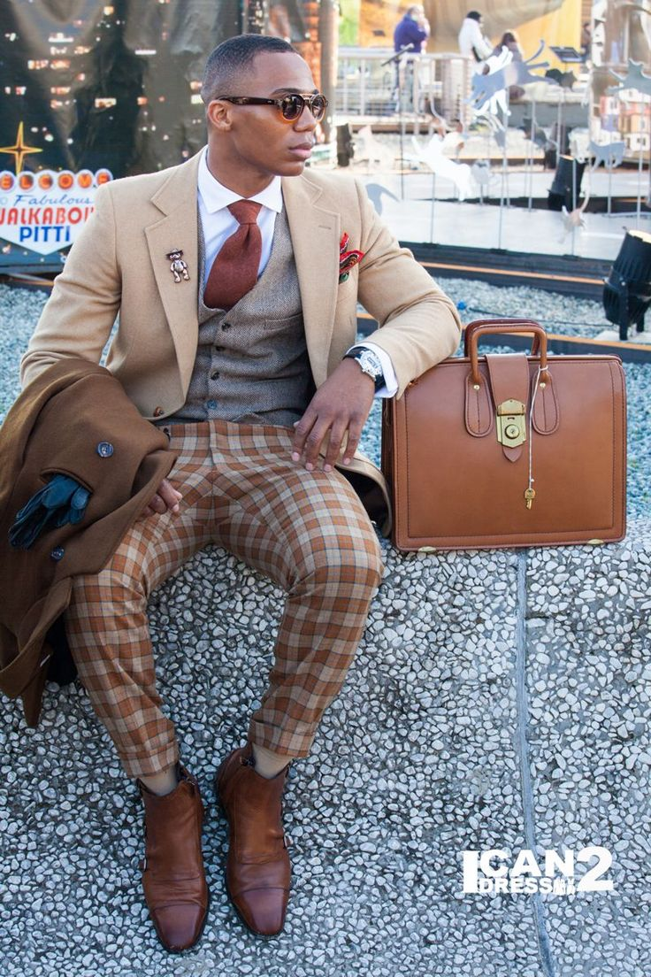Pitti Uomo...where else? #pitti87 Sorry do not like this look . good looking guy but the outfit looks carnival & to tight.