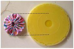 How to Make a Perfect Yo-Yo Every Time With Each Clover's Yo-Yo Maker by Joan on Lazy Girl Designs