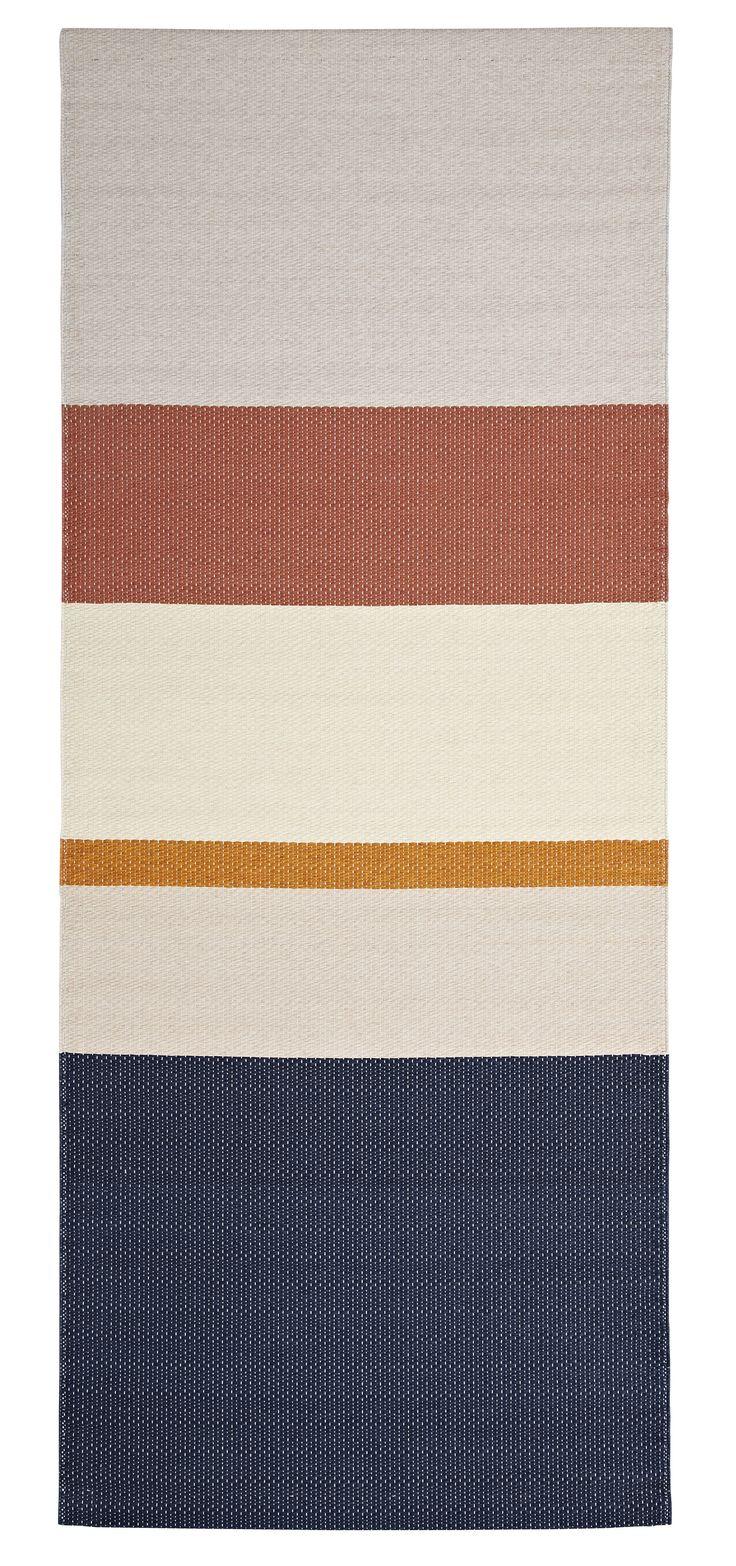 Teppich Paper / 80 x 200 cm - aus Papier, Zimt von Hay finden Sie bei Made In Design, Ihrem Online Shop für Designermöbel, Leuchten und Dekoration.