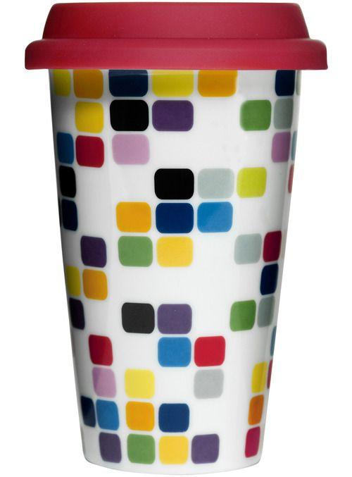 The Sagaform Café Pix Take-Away Mug