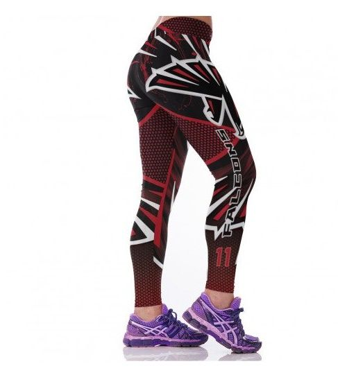 Atlanta Falcons Julio Jones Womens Leggings Fitness Gym 2017 #RiseUp @AtlantaFalcons
