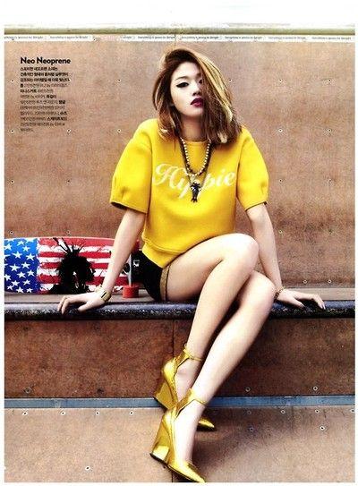 Choi Ara by Mok Jungwook for Cosmopolitan Korea May 2013