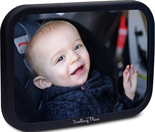 #1 Baby Car Mirror ★ FREE STROLLER HOOKS! ★ Dwelling Place® ★ Back Seat Rear-facing Infant Car Seat ★ Shatterproof and Adjustable - $38.00