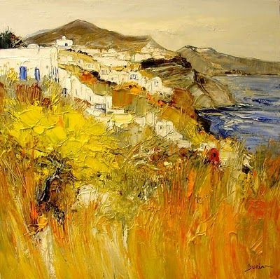 Landscape painting by French Artist Jean Paul Surin