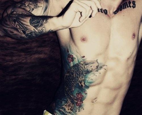 Imagini pentru abs tattoo