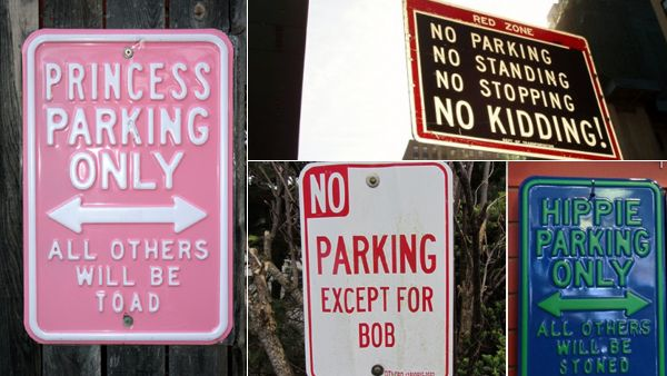 9 super funny parking signs (GALLERY)