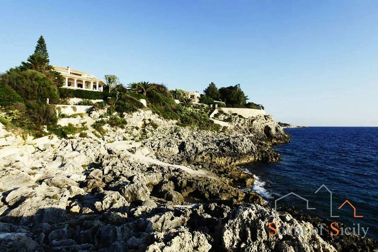 Near Siracusa, you can enjoy a breath-taking seaview from this villa with direct access to the blue sea of Plemmirio protected marine area. We wish you a pleasant weekend from Sicily. http://www.scent-of-sicily.com/villas-in-sicily/villa-plemmirio-3/