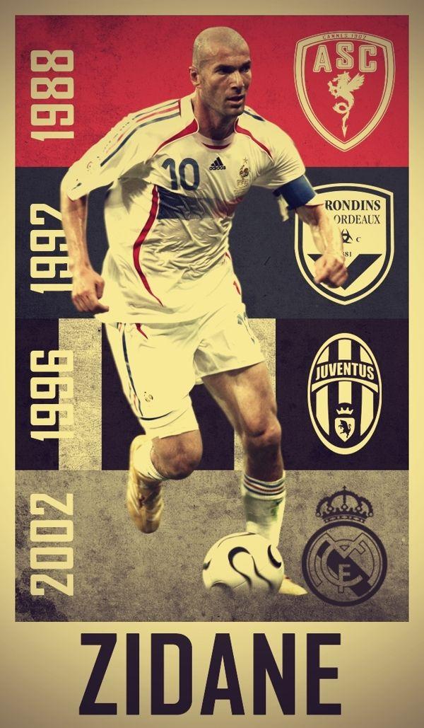 Zinedine Yazid Zidane like a ballerina, he just made football look graceful and effortless.