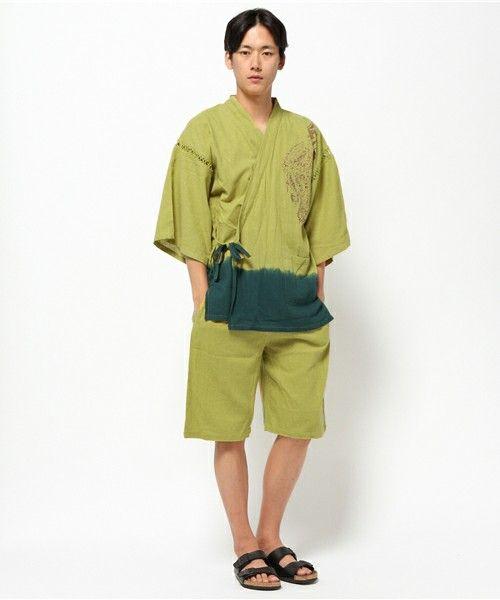 【ZOZOTOWN|送料無料】チャイハネ(チャイハネ)の着物/浴衣「【チャイハネ】トライバルプリント甚平」(IPF-4228)を購入できます。